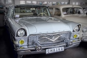 """Chaika"" GAZ-13 white (""Чайка"" ГАЗ-13 белая)"